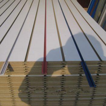 Melamine MDF groove board   Wood 7-4