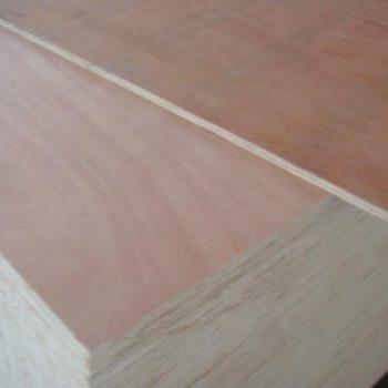 Okume veneer plywood with poplar core & E2 glue   Wood 1-8