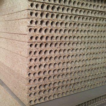 Hollow core particle board,chipboard.tubular door core wood16-9