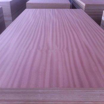 Sapeli veneer MDF   Wood 9-2