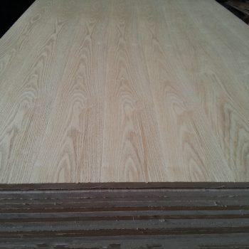 ash veneer MDF board with E2 grade 1220*2440 mm  Wood 6-8